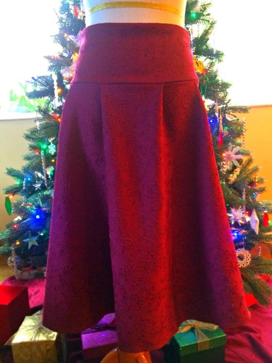 A Christmas Romance Skirt